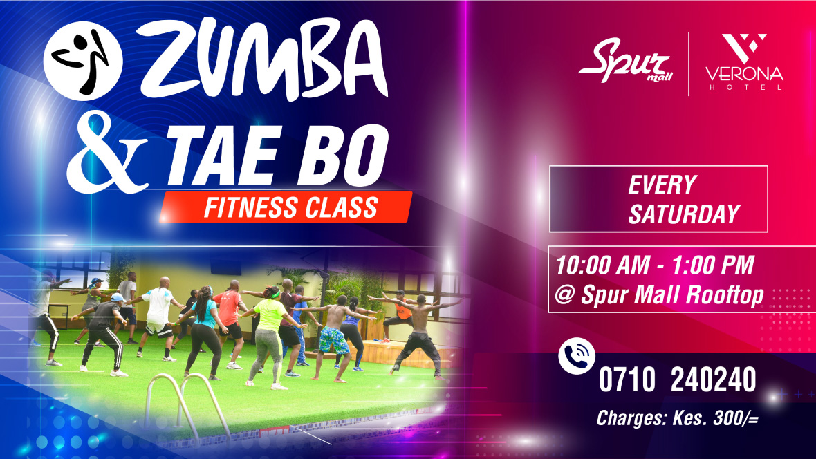 Zumba Tae bo Classes , Verona Hotel & Conference Center Kenya